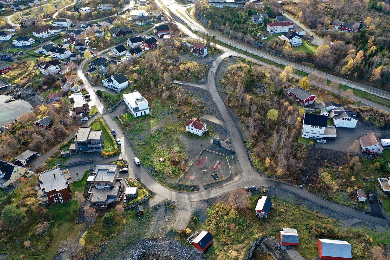 Nedre Holtet dronefoto